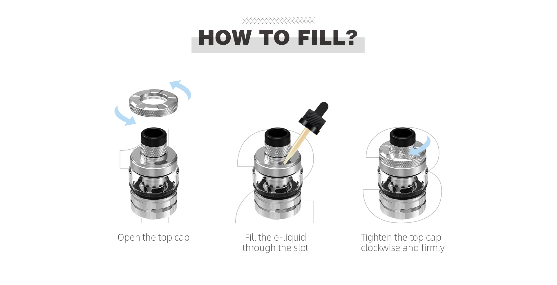 wirice launcher tank - eliquid refill system